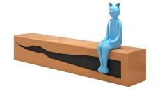 GHẾ NGỒI HOẠT HÌNH CATWOMEN BẰNG COMPOSITE CAO CẤP