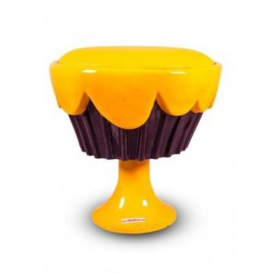Ghế bánh kem màu vàng giá tốt