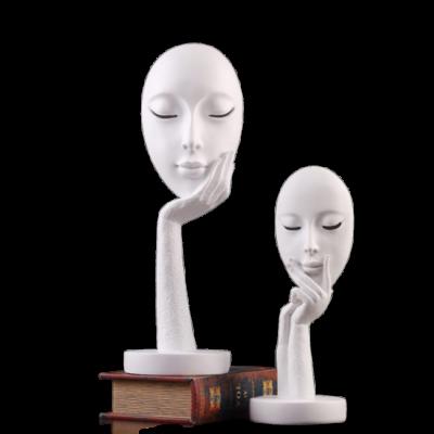 THỦ CÔNG MỸ NGHỆ ĐỒ TRANG TRÍ NỘI THẤT HÌNH KHUÔN MẶT