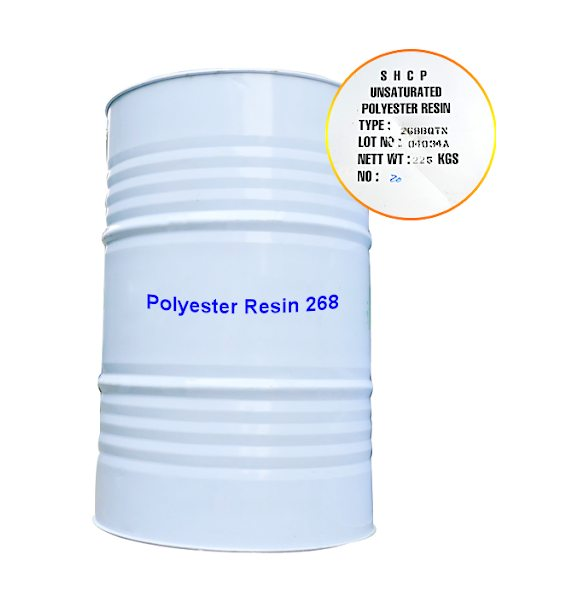 POLYESTER RESIN 268 [SẢN XUẤT COMPOSITE]